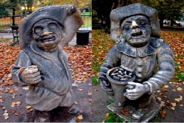 Zwerglgarten The Dwarf Garden-Bizarre Statues Created From Your Nightmares