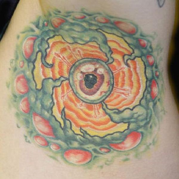 Look deep into my armpit-Bizarre Armpit Tattoos