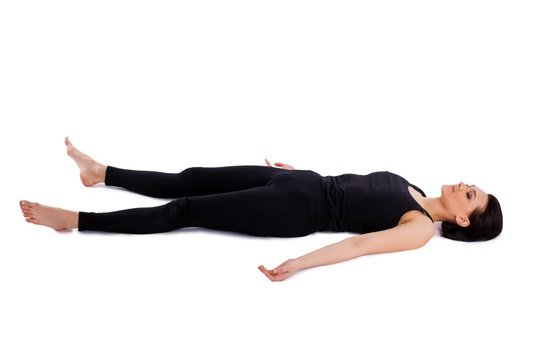 Corpse pose-Simple Yoga Positions To Relieve Stress
