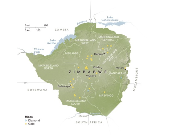 Zimbabwe-Countries Without McDonald's