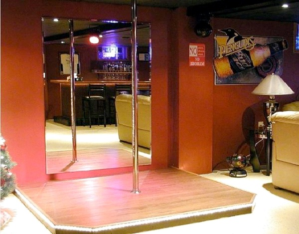 stripper Pole-Awesome Man Caves