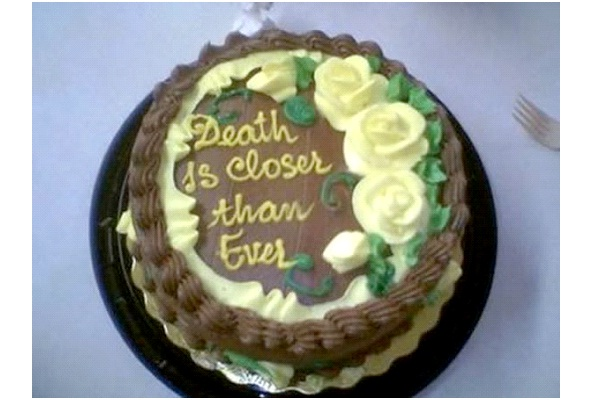 death-12 Hilarious Cake Texts That Will Make You Laugh For Sure