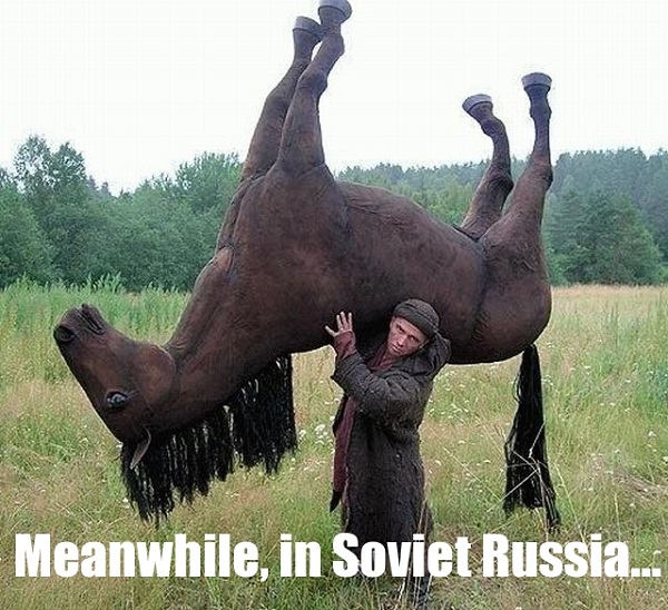Soviet Russia-Best Meanwhile In..Memes