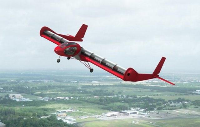 It's wide, but short-Most Bizarre Designed Aircrafts