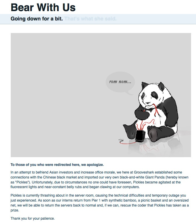 The bored panda-Funny Website Error Messages