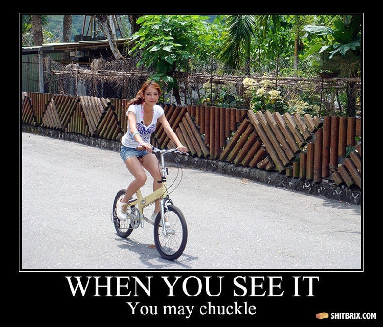 Riding that bicycle-Find Out What's Wrong With These Pics