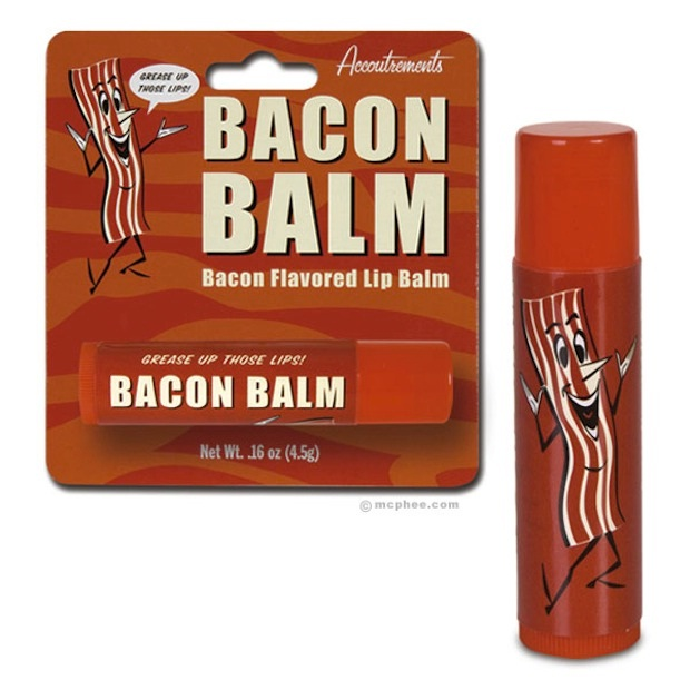 Lip-static lip balm-Craziest Products Inspired By Bacon