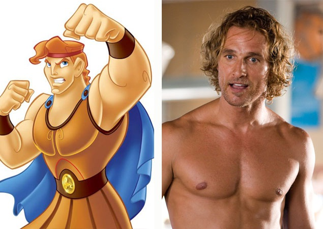 Matthew McConaughey-Disney Look A Like Celebrities