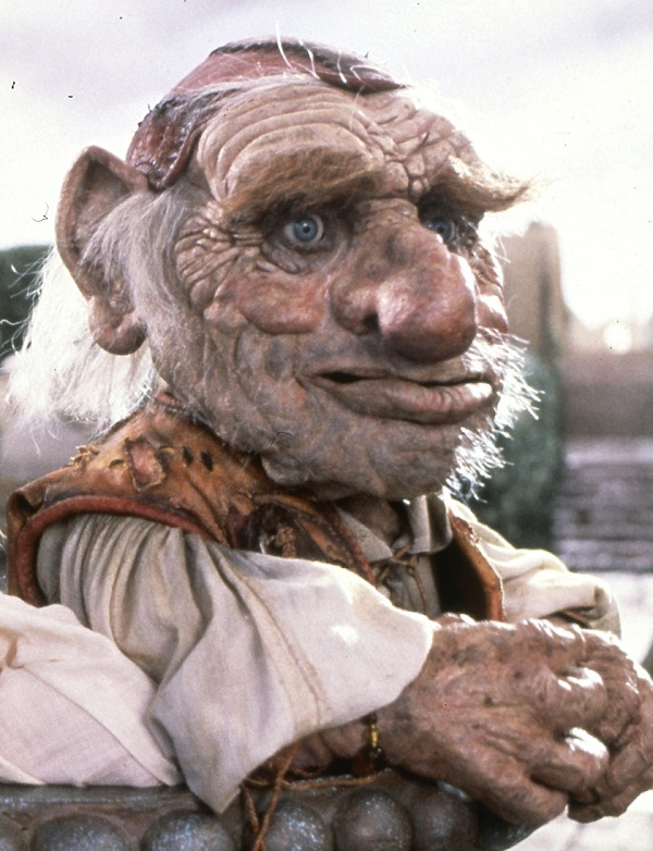 "Hoggle from ""Labyrinth""-Most Amazing Things Ever Found In Abandoned Luggage"