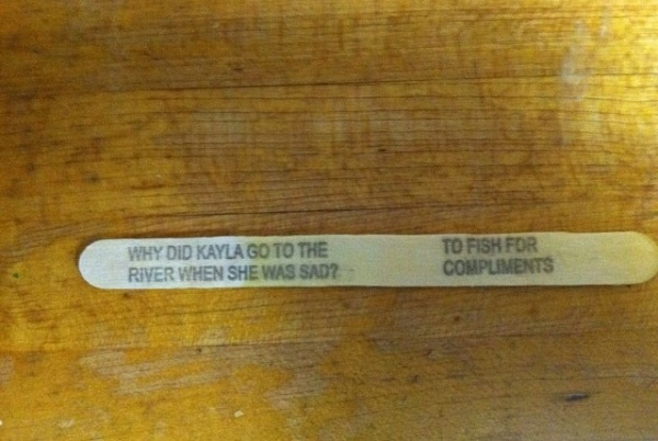 Something fishy-12 Funniest Popsicle Stick Jokes That Will Make You Lol
