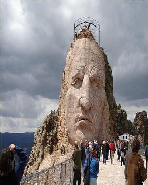Crazy Horse memorial-Amazing Mountain Carvings