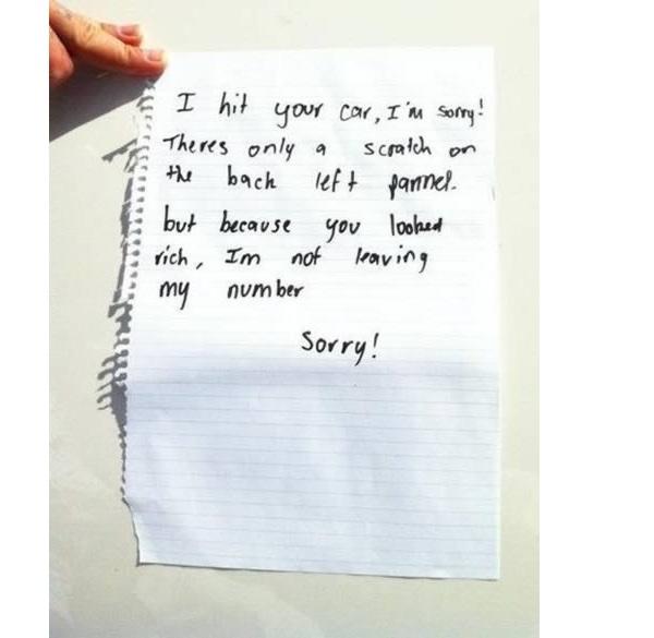 Rich man-Hilarious Public Apologies