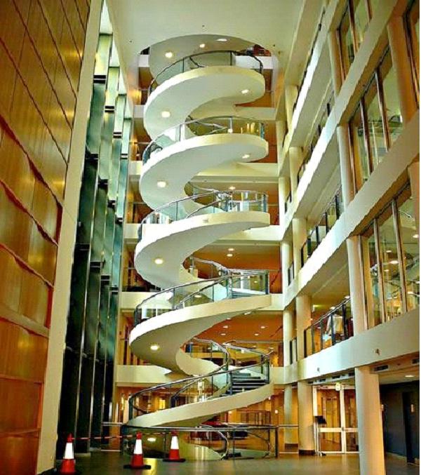 Garvan Institute - Sydney, Australia-Amazing Staircases In The World