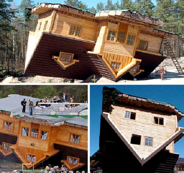The Upside-Down House - Szymbark, Poland-Most Amazing Houses