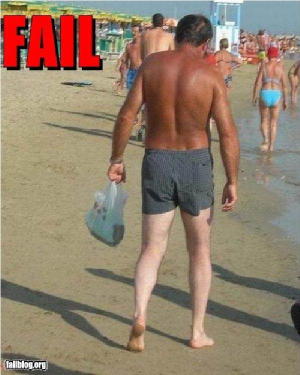 Got Sunscreen?-18 Hilarious Beach Fails That Will Make You Laugh Out Loud