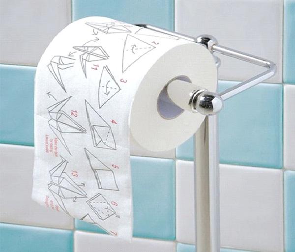 Oragami-Weirdest Toilet Papers