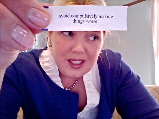 Avoid Making Things Worse-Hilarious Fortune Cookies