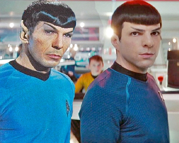 Spock Vs. Spock-Things That Went Viral In 2013