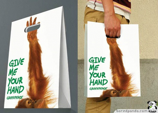 Greenpeace-24 Most Creative Bag Ads