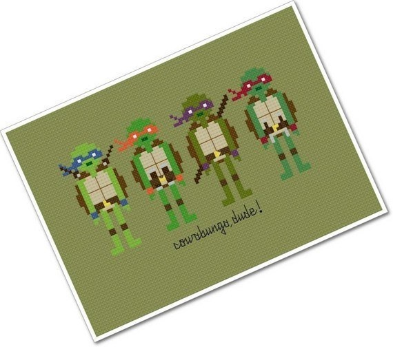 Teenage Mutant Ninja Turtles-Etsy Items That Will Remind You Of Your Childhood