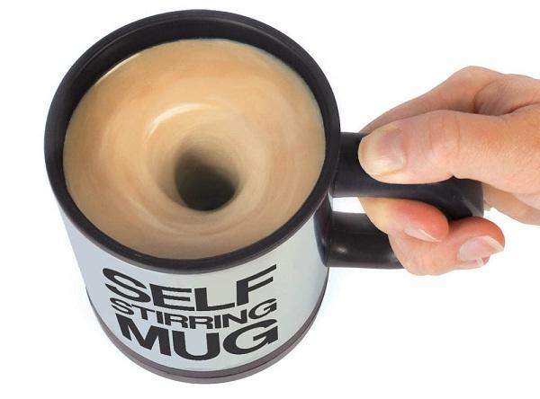 A self stirring mug-Cool Kitchen Gadgets