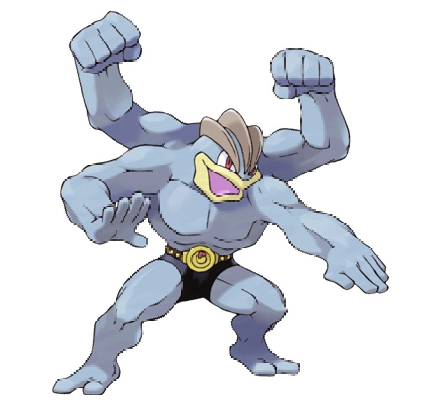 Machamp is Slow-15 Mind Blowing Facts About Pokémon
