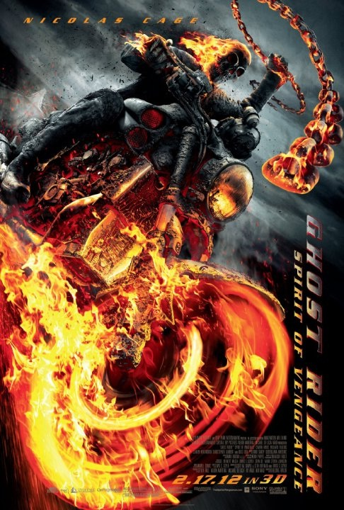 Ghost Rider: Spirit of Vengeance-Superhero Movies That Disappointed Us