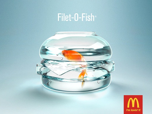 Fish Out of Water-Most Creative McDonald's Ads