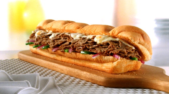 "Subway 6"" Steak & Cheese-Healthy Fast Food Items You Can Opt For"