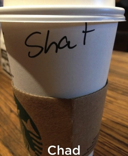 You fail!!-Funny Starbucks Cup Spelling Fails