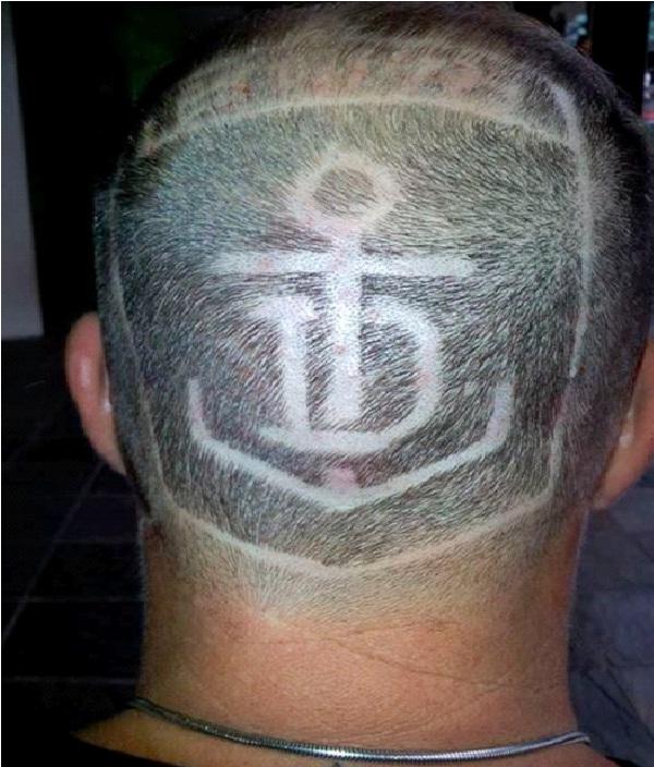 Awesome Hair Tattoos