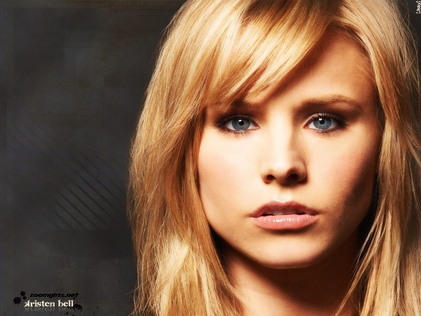 Kristen Bell-Celebrities With Wonky Eyes