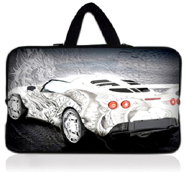 Racing Car-Coolest Laptop Sleeves And Bags