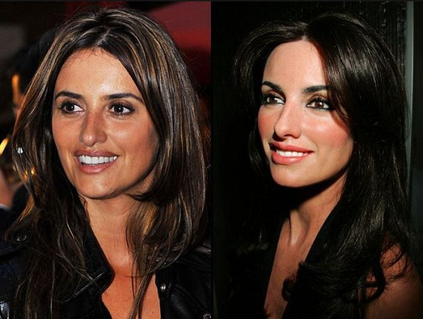 Penelope Cruz-Celebs With Their Wax Statues