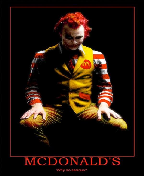 Ronald The Joker-Most Inappropriate Ronald McDonalds