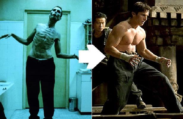 Christian Bale-Shocking Celeb Movie Transformations