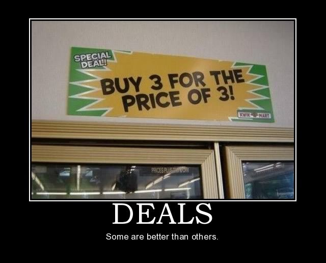 What An Offer!!-Strangest Promotions And Combos