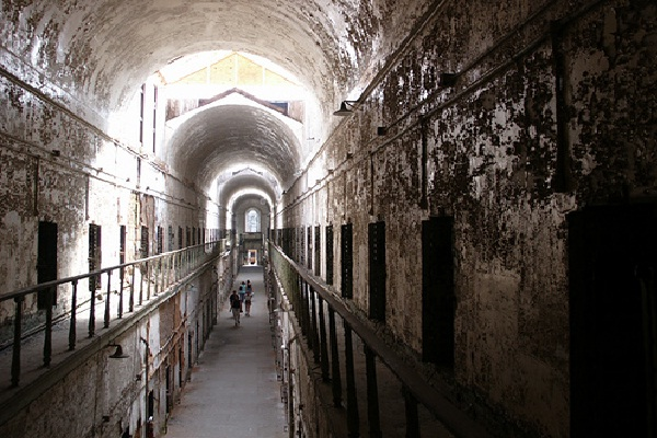 Eastern State Penitentiary, Philadelphia-Most Haunted Places In USA