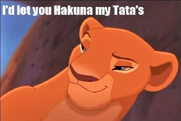 Sounds saucy-Best Lion King Memes