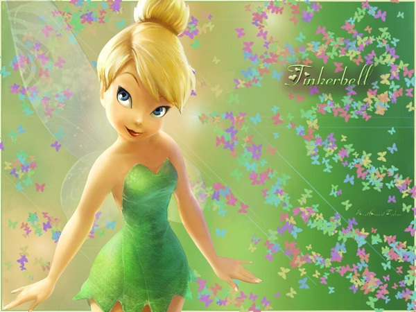Tinkerbell-Hottest Female Cartoon Characters Ever