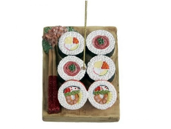 Sushi Ornament-Unusual And Funny Christmas Ornaments