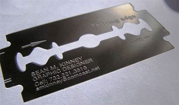 Razor Sharp Design-Most Creative Business Cards