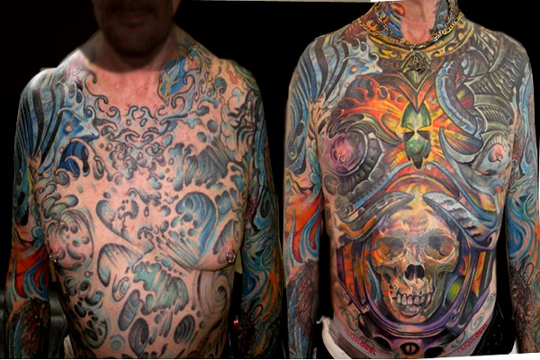 Colorful-Full Body Tattoos