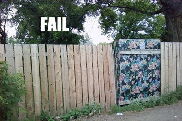 Great Problem Solving-Hilarious Fence Fails