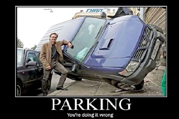 Lean On Me-Craziest Parkings Ever