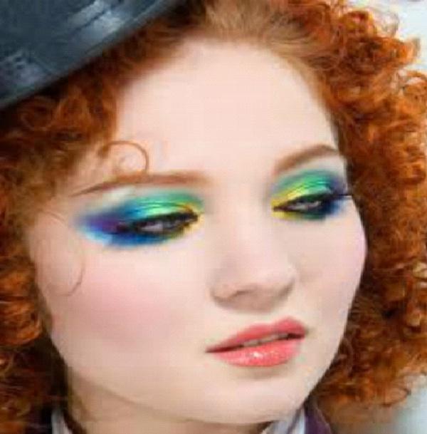 Rainbow Bright-Crazy Eye Make Up
