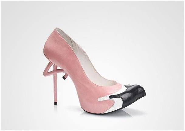 Flamingo Heels-Crazy Yet Creative High Heel Designs By Kobi Levi