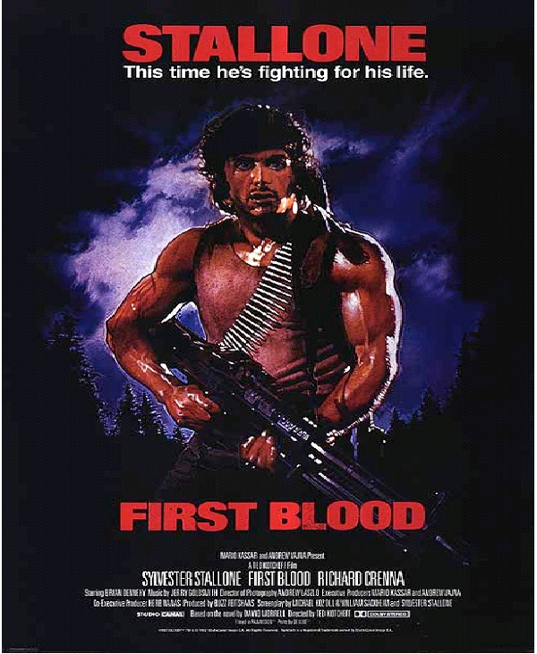 First Blood-Best Action Movies Of All Time