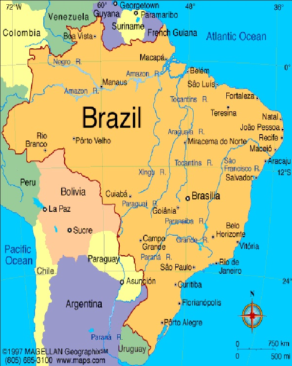 Brazil-Top Countries With Highest Diabetic Population