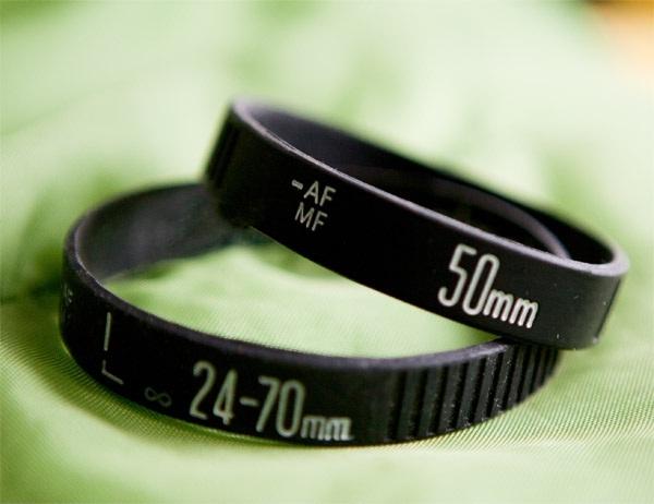 The camera lens-Strangest Bracelets